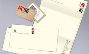 Brand Identity nc56 - Geschäftsausstattung